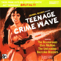 Split SQRL11 Teenage Crime Wave