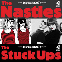 Split SQRL14 The Nasties / The Stuck Ups
