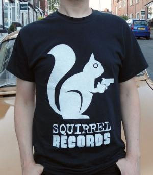 Squirrel Records 'Logo' T-Shirt